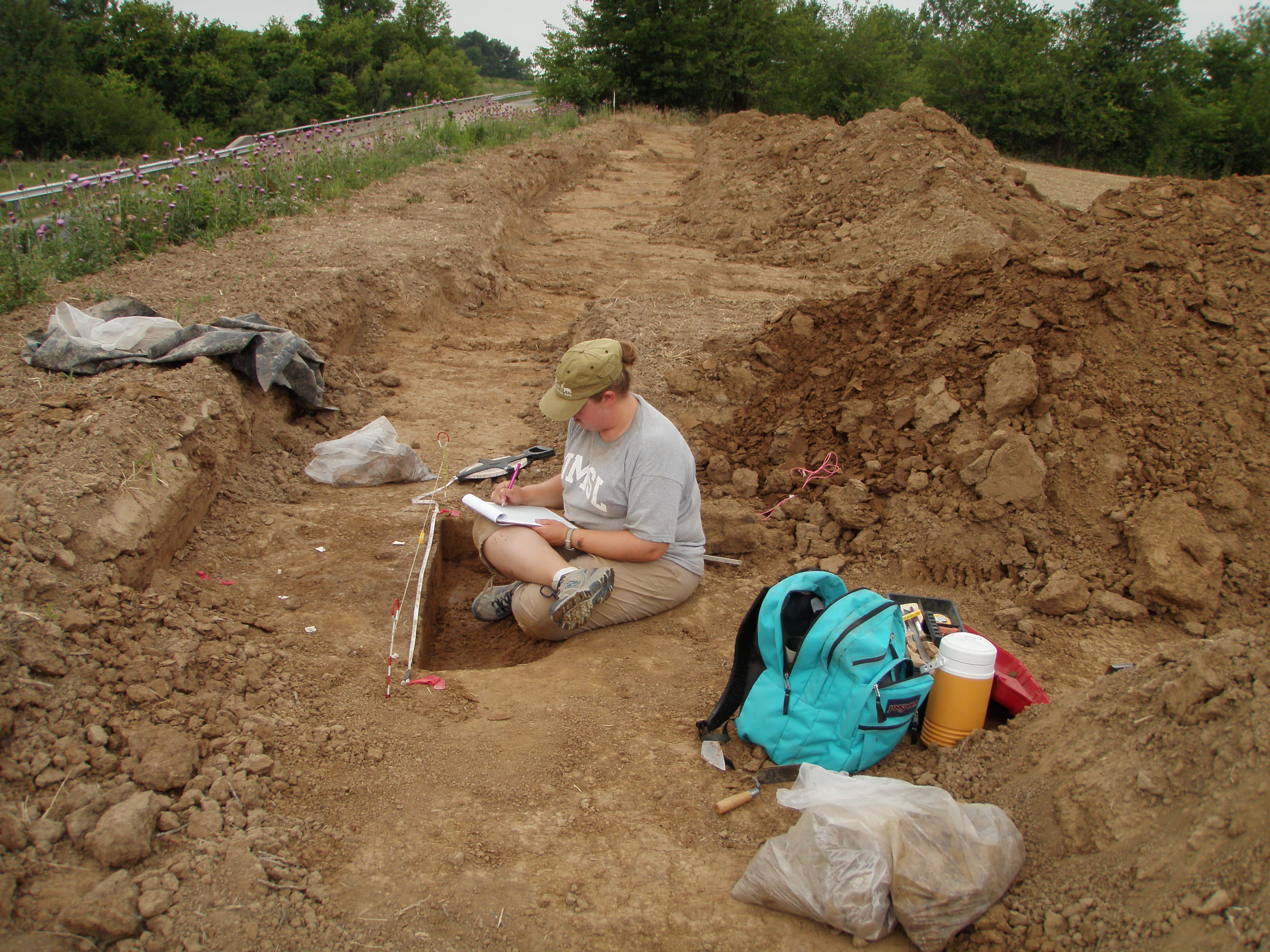 Reider Road site excavation