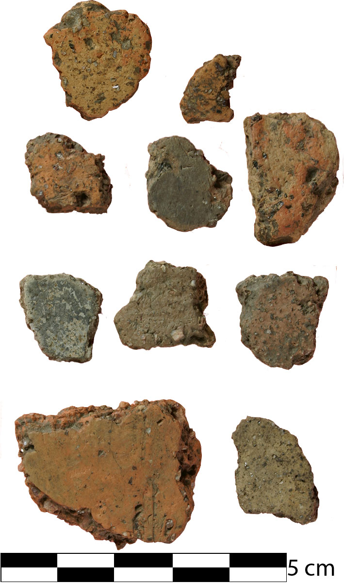 Ceramics Recovered from 11RI411