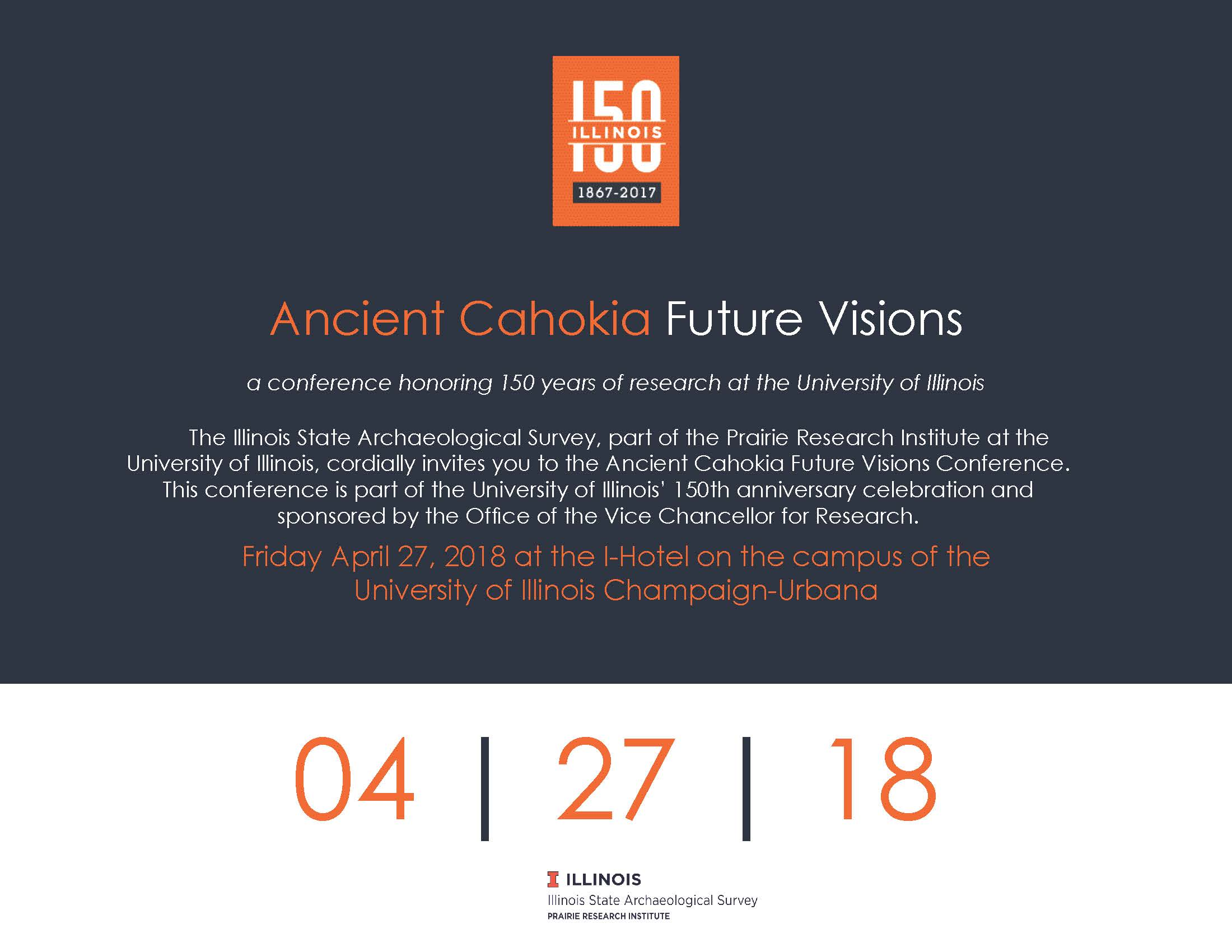 Ancient Cahokia Future Visions Save-the-Date