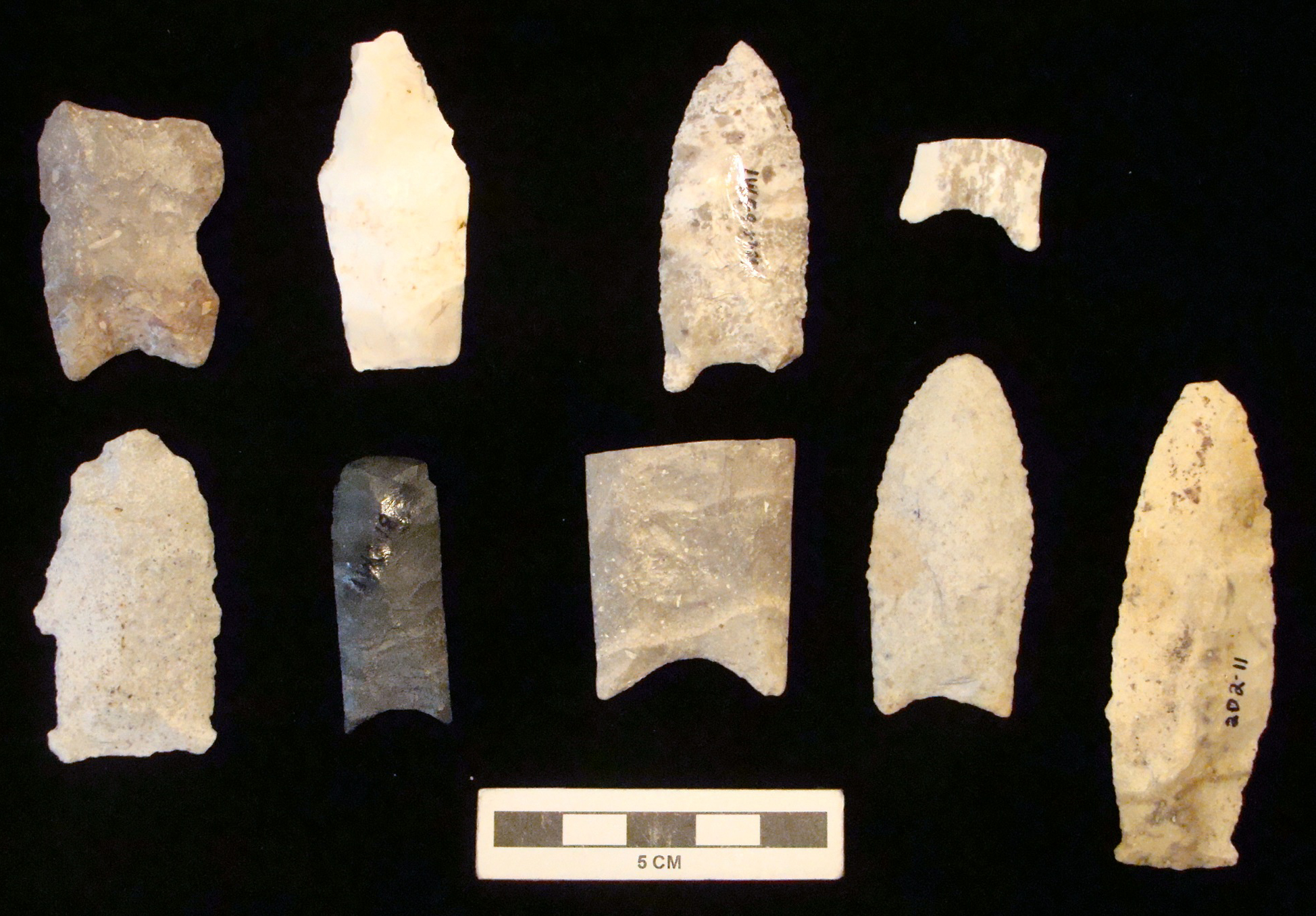 Paleoindian points