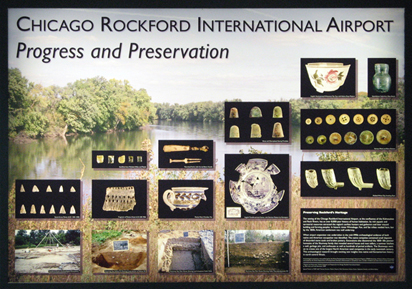 Chicago Rockford International Airport poster