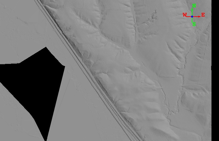 LiDAR image of above extent