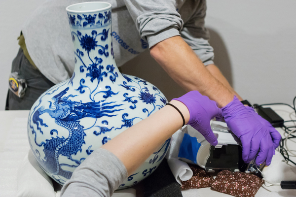 Deciphering history of Chinese vase