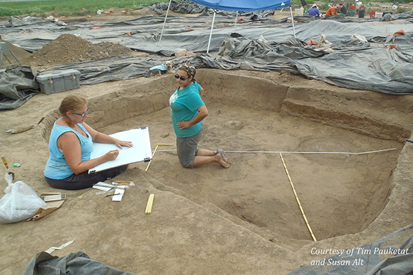Website for Archaeology Projects Funded by Templeton Foundation and NEH Grants